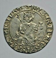Italy, Naples, Robert d'Anjou, silver gigliato, lifetime issue c. 1309-17