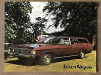 c1972 Ford Falcon Wagons original Australian sales brochure