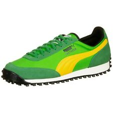 PUMA Fast Rider in Green Yellow Men's Trainers All Sizes Limited Stock 371601-05