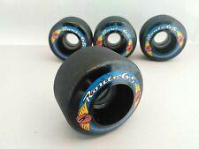 KRYPTONICS ROUTE 65MM BLACK 78A Longboard Cruiser Skateboard Wheels set 4