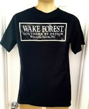 Wake Forest Deamon Deacons T Shirt Size Small Front Back Logo Southern by Design