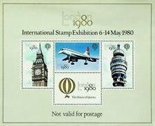 Gb 1980 London'80 Int'L Stamp Exhibition Fine Mnh Sheet