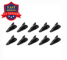 10 PCS Air Vortex Generator EVO-Style Roof Shark Fins Diffuser Fin Set Black