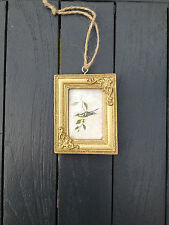 Red Blue Cream Gold Pastel Hanging Mini Small Photo Frames Wedding Favours