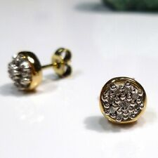 585/14 CT Yellow Gold Women's Ear Studs Earrings With