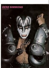 KISS Gene means business magazine PHOTO / mini Poster 11x8 inches