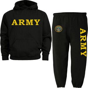 US Army sweatpants sweatshirt hoodie Army sweats tracksuit jogging set warm-ups