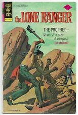 "The Lone Ranger #22 (Gold Key, 1975) – ""The Marshal"" – ""The Prophet"" – FN-"
