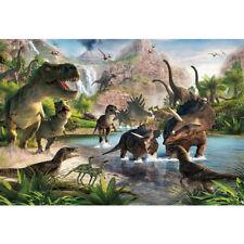 7x5ft Vinyl Jurassic World Dinosaur Party Photography Studio Backdrop Background