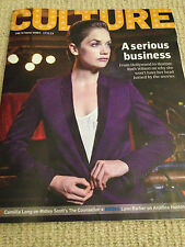 CULTURE MAGAZINE NOV 2013 RUTH WILSON DAVID SUCHET MATTHEW MACFADYEN DEV HYNES