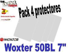 "Pack 4 Protectores para Tablet Woxter 50BL 7"" pulgadas 50 BL"