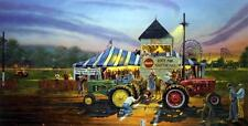 "Dave Barnhouse "" For Top Honors Tractor Pull Fair Art Print-Signed and Numbered"