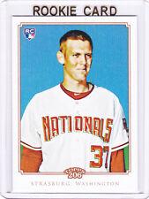 Stephen Strasburg TOPPS 206 RC Washington Nationals 2010 ROOKIE Baseball Card LE