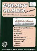 Akkordeon Noten : Golden Oldies 9 - mittelschwer - mit 2. Stimme (ad. lib) ECORA