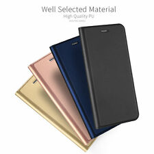 Luxury Magnetic PU Leather Wallet Flip Case Cover For iPhone X 8 7 6s Plus 5 SE