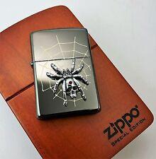 SPIDER SKULL Ebony ZIPPO neu+ovp in HOLZBOX Limited xxx/1000