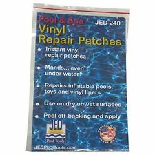 Jed Pool tools Inc 35-240 36-Count Pool and Spa Vinyl Repair Patches