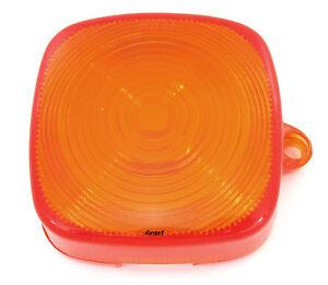 Honda Turn Signal Lens - 33402-195-023 - Amber - C70 CT70/110 XL80/100/125/185
