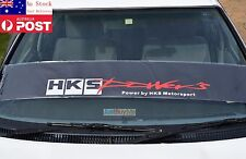 HKS POWER Windshield Reflective Car Truck Sticker Against Sun Universal 130cm