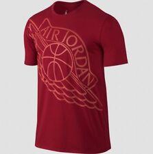 """Nike Air Jordan """"Wingspan"""" T-Shirt Red/Infared Men's XL BWNT!"""