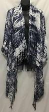 Knox Rose Kimono Cover Up XL Extra Large Tie Dye Drape Roll Tab Sleeves 480 P