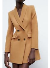 Zara AW19 Velvet Shawl Collar Double Breasted Tuxedo Blazer Jacket S M L XL XXL