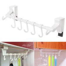Kitchen Paper Roll Towel Organizer Hanging Door Hook Rack Holder Bathroom Shelf
