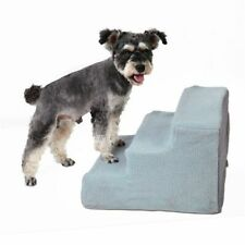 Pet Bed Stairs Ramp For High Bed 3 Step Anti-Slip Removable Washable Puppy House