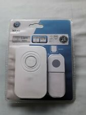 Blyss Liam Wireless Plug In Doorbell & Button Set 100m range IP44 36 tones BNIP