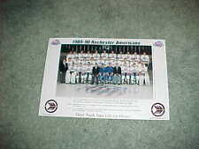 1989 Rochester Americans AHL Team Hockey Photo