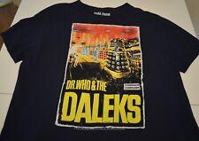 Dr. Who & The Daleks t-shirt blue Xl Science-fiction film 1965