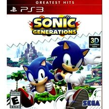 Sonic Generations PS3 Playstation 3 Game Brand New Sealed