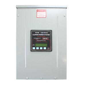 EATON CUTLER-HAMMER CPS200480YSK CLIPPER POWER SYSTEM VISOR TVSS PANEL, 200KA