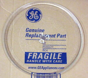 GE Microwave Oven Turntable Glass Tray Dish WB49X10176 AP3883613 PS1016243