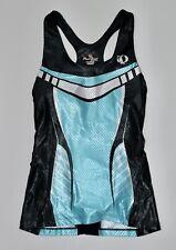 New $135 Womens Pearl Izumi Sz Xs Pro Intercool Blue Black Singlet Tank Top