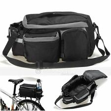 BIKE BICYCLE CYCLING REAR TAIL RACK PACK PANNIER SADDLE SEAT STORAGE BAG CARRIER