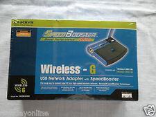 Linksys USB Wireless-G Network Adapter w/SpeedBooster 802.11b/g 54Mbps WUSB54GS