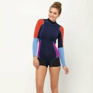 CYNTHIA ROWLEY x ROXY Navy Multicolor Wetsuit