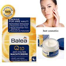 Balea Energy Anti Wrinkle Q10 Face Night Cream Omega Complex Moisturizer 50 ml