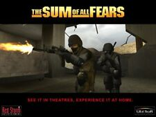 The Sum Of All Fears SOAF (PC, 2002) COMPLETE tactical shooter like rainbow six