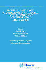 Natural Language Generation in Artificial Intelligence and Computational Linguis