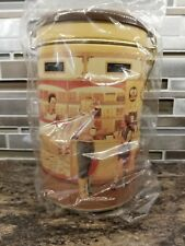 "TIM HORTONS COLLECTIBLE EMPTY COFFEE CANISTER 1st EDITION ""GATHERING PLACE"""