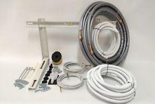 kit montaggio condizionatore climatizzatore 2 metri 1/4 3/8 full optional
