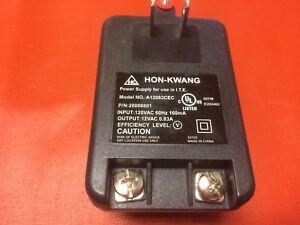 Hon-Kwang (A12083CEC) 12VAC 60Hz AC Adapter Power Supply