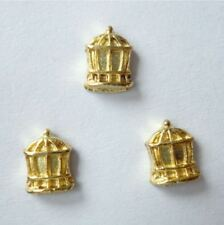 1 PC GOLDEN BIRD CAGE  Floating Charm for Living Memory Locket BUY 3 GET 1 FREE