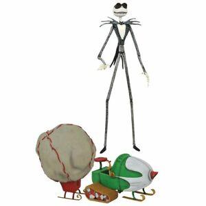 Diamond Select Jack Skellington Figure Nightmare Christmas Snowmobile **IN STOCK