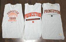 (3) Princeton Tigers Basketball T-Shirt Lot Men Large L Xl Nike Champion Russell