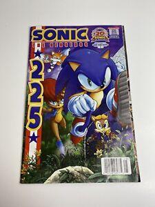 Sonic The Hedgehog Comic Book #225 20th Anniversary