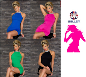 Fashion Ladies Mini Dress Party Sexy Clubbing One Size