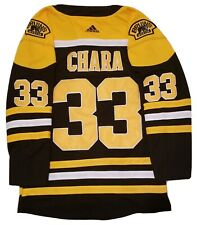 Boston NHL Jersey Zdeno Chara #33 C worn once Mens Large/52 Adidas